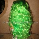 Парик Зелёный (длинный, вьющийся)