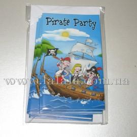 """Приглашение """"Пиратская вечеринка"""""""