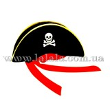 Шляпа Пиратская №1