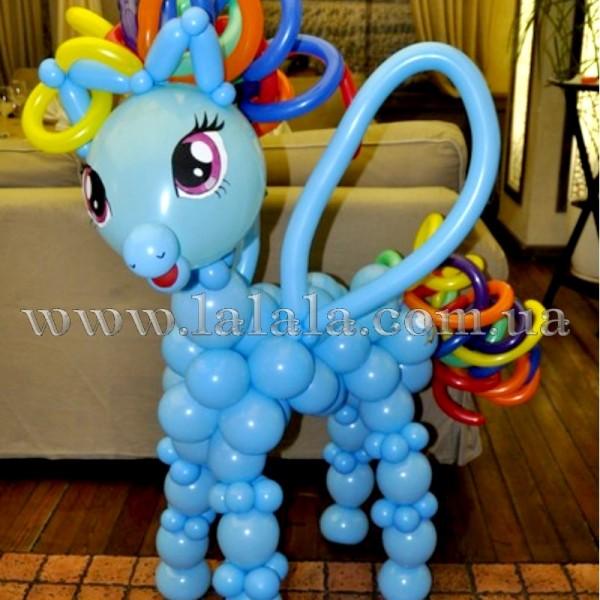 """Фигура из шаров """"Маленький Пони"""" 1 (большая)"""